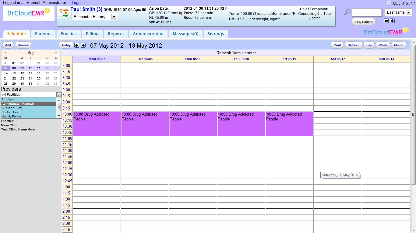 APPOINTMENT & SCHEDULE MANAGEMENT