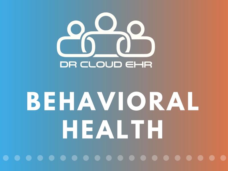 DrCloudEHR Behavioral Health
